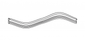 Box seal gasket 400341/5R 5mm for SH48