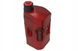 Utility can PROOCTANE 20 l with standard cap + 250 ml mixer clear red