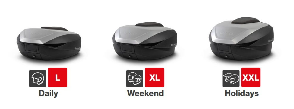 505fba2313d22 Top case SH59X čierny s hliníkovým krytom (zväčšiteľný koncept ...